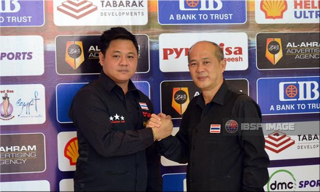 Chuchart Trairattanapradit & Suchart Sukliem of Thailand