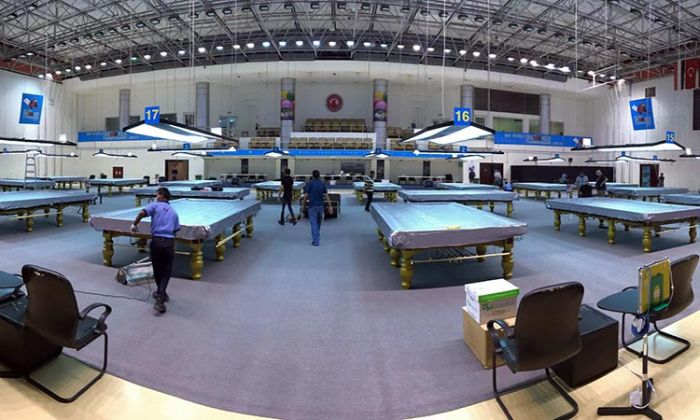 Venue for IBSF Championship in Doha