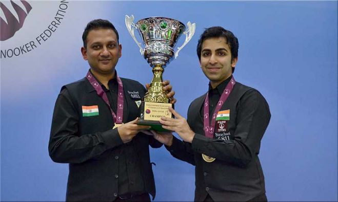 INDIA: Manan Chandra & Pankaj Advani