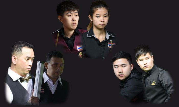 Thailand secures top seed in all three categories of World Team Snooker