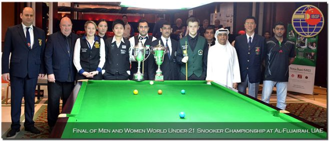 Finals of IBSF World Under-21 Snooker 2014