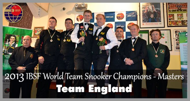 Podium Picture of 2013 World Team Masters