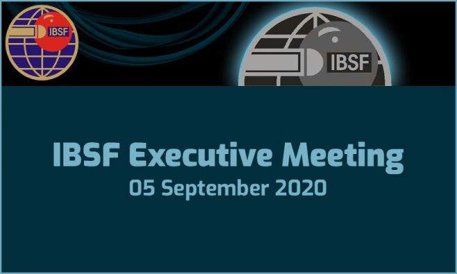 IBSF Executive Meeting - 05 September 2020
