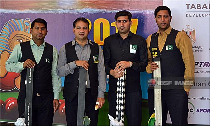 Both Pakistani teams secures medal at World Team Snooker 2017