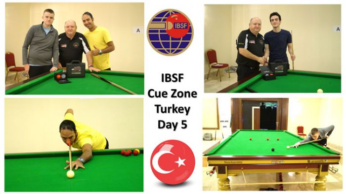 Day-5: Cue Zone at the 2019 IBSF World Snooker Championships