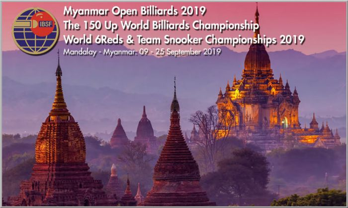 Tournament Info: World Billiards, 6Reds and Team Snooker 2019
