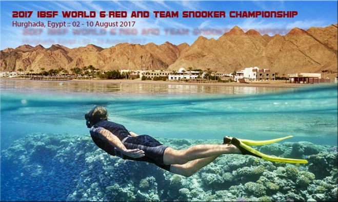 Tournament Info: 2017 IBSF World 6Red and Team Snooker