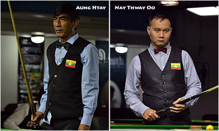 Aung Htay and Nay Thway Oo (Myanmar)
