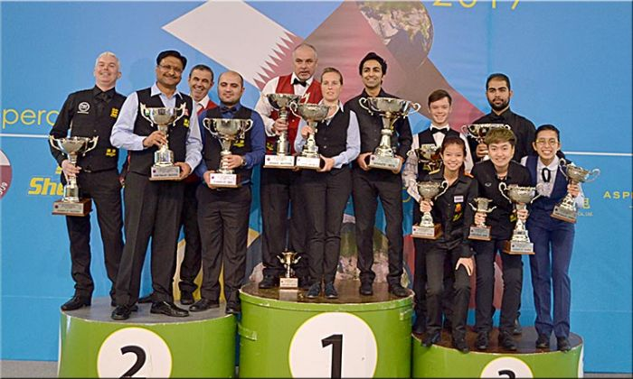 Advani wins World Snooker, Morgan, Wendy claims World Masters and World Women titles