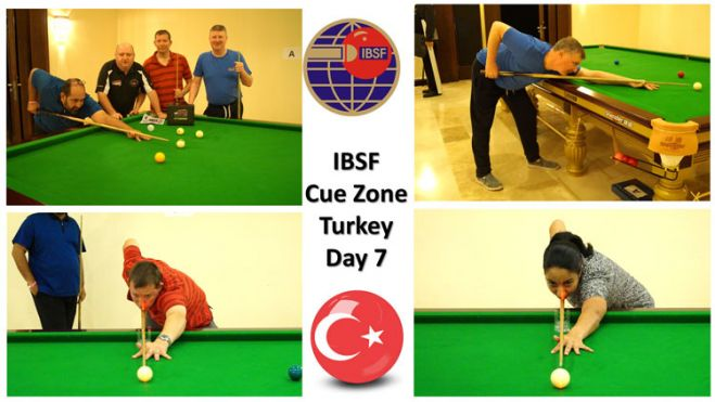 Day-7: Cue Zone at the 2019 IBSF World Snooker Championships