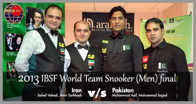 Team Men - Pakistan & Iran