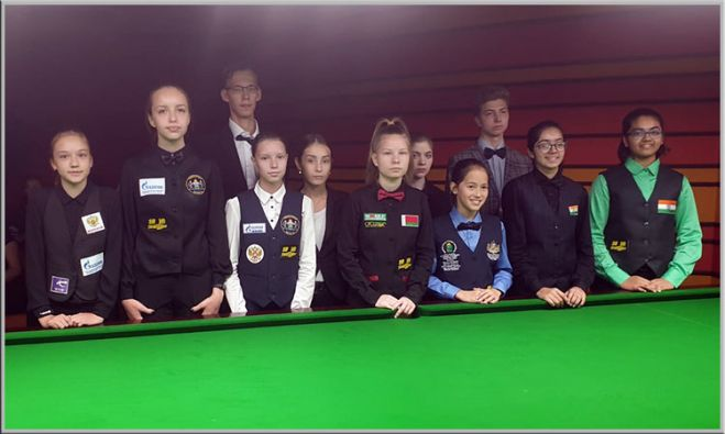 Russian Girls dominates in the World Under-16 Girls Snooker