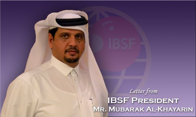 Letter from IBSF President regarding Open Billiards & Snooker Tournaments