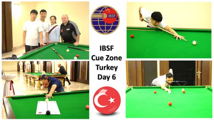 Day-6: Cue Zone at the 2019 IBSF World Snooker Championships