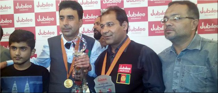 Afghanistan wins team Masters title