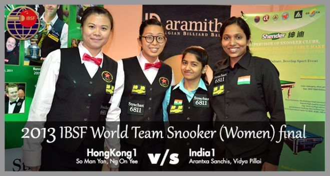 Team Women Finalists - HongKong1 & India1
