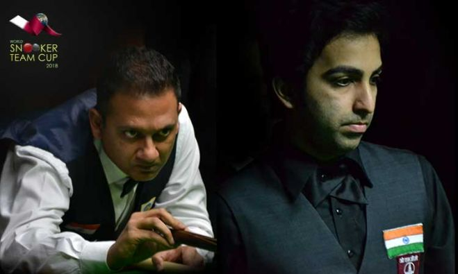 INDIA-2: Manan Chandra, Pankaj Advani