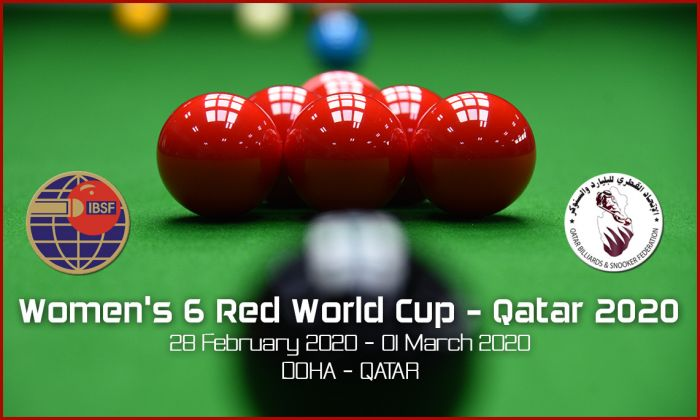 Women's 6 Red World Cup - Qatar 2020
