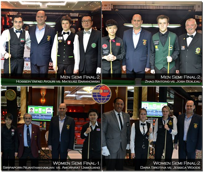 Semi Finals of IBSF World Under-21 Snooker 2014
