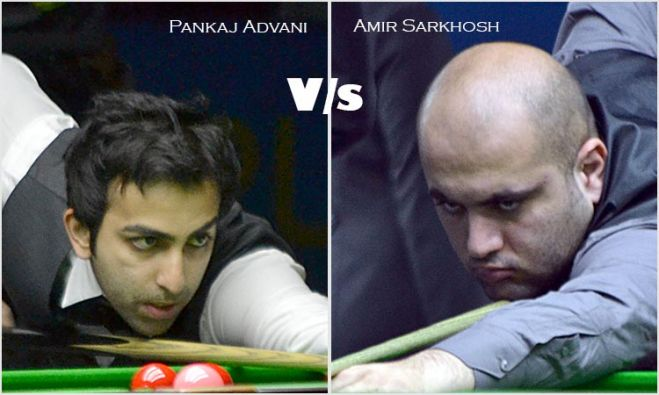 Advani to meet Sarkhosh in World Snooker final