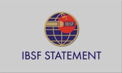 IBSF Statement: 24th January 2018