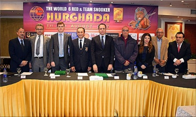 Press Conference on World 6Reds and Team Snooker 2017