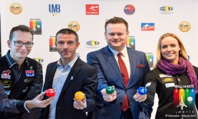 Billiards sports launched its bid to get on the program of the 2024 Paris Olympic Games