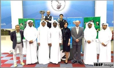 Amir wins the inaugural Qatar 6Red World Cup 2019