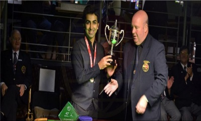 Advani wins 11th World Title of his career