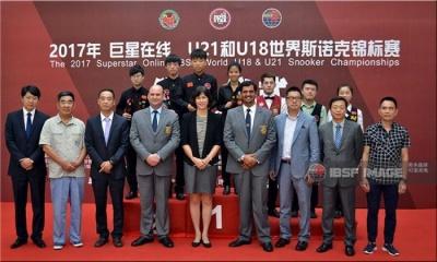 Fan Zhengyi and Nutcharat W wins 2017 IBSF World U21 Snooker Event