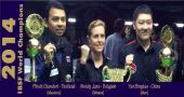 Yan, Wendy & Phisit are World Champions