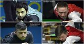 Advani, Andrew, Steve and Florian secures top-four seeds for the knockouts
