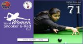 Amee hits the highest break; becomes second woman to cross 70 in 6Red
