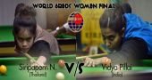 Siripaporn will take on Vidya Pillai in the final of World Women 6Reds Competiition