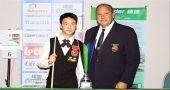Xu Si is 2016 IBSF World Under-21 boys champion