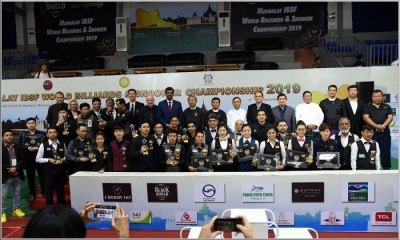 Six world championships successfully accomplished in Myanmar