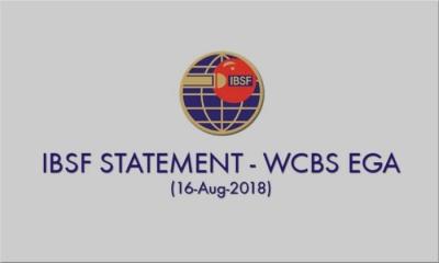 IBSF STATEMENT - WCBS EGA