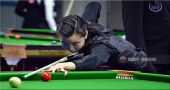 China's top level pool player enters in the Junior World Snooker competition