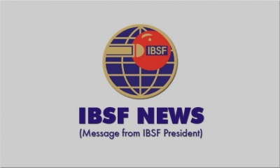 IBSF NEWS: Message from IBSF President