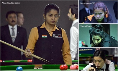 Arantxa to meet Waratthanun in IBSF World Women Snooker quarterfinal