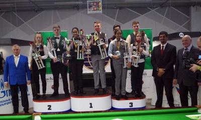 Ben Mertens and Keerthana P. wins the World U16 Snooker (Men & Women) Championships