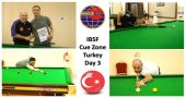 Day-3: Cue Zone at the 2019 IBSF World Snooker Championships