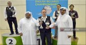 Russell wins his 6th IBSF World Billiards title